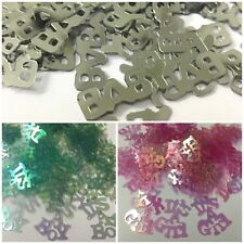 BABY SHOWER TABLE CONFETTI - PARTY, DECORATION, IT'S A BOY, IT'S A GIRL, NEWBORN