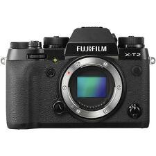 Neuf Fujifilm X-T2 XT2 Digital Camera Body Only - Black Noir