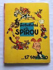 BD - 4 aventures de Spirou et Fantasio / EO FRANCAISE 1956 / FRANQUIN / DUPUIS