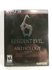 Resident Evil 6 Anthology PS3 2012 *FACTORY SEALED*Free Shipping*RARE GAME*