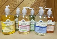 CLEARLY NATURAL Essentials GLYCERIN HAND SOAP 12 oz., CHOOSE SCENT/TYPE