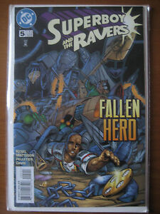 DC COMIC BOOKS, SUPERBOY AND THE RAVERS 1997 SERIES # 5  NEAR MINT !!