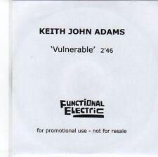 (EE754) Keith John Adams, Vulnerable - 2013 DJ CD