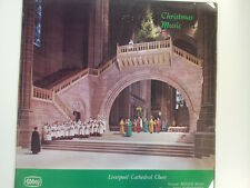LP CHRISTMAS MUSIC Liverpool Cathedral Choir R. Woan