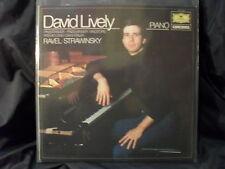 Klaviermusik von Ravel und Strawinsky / David Lively