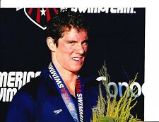 2012 Usa Gold Medal Olympic Swimmer Conor Dwyer Signed Medal 8X10