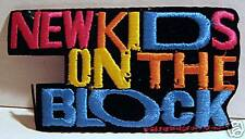 Nkotb Blue Medium Rock Concert Band Patch Old Stock