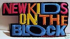 NKOTB Blue Medium Rock Concert Band Patch Old Stock