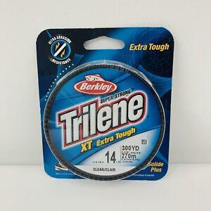 Berkley XTFS14-15 Trilene XT 14 lb Clear Monofilament Fishing Line 300 YD