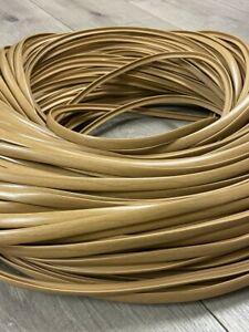 Caravan / Motorhome T trim in chestnut shade various sizes (10 or 13.5 mm)