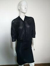 BLACKY DRESS BERLIN blue long sleeve dress size UK10