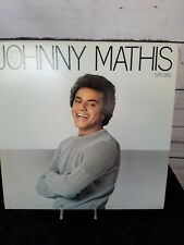 Johnny Mathis Record The Best Of Johnny Mathis 1975-1980 LP JC 36871 Columbia