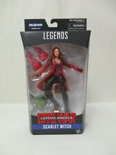 "2015 HASBRO MARVEL LEGENDS 6"" SCARLET WITCH ACTION FIGURE ABOMINATION SERIES NEW"