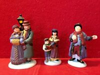 Town Square Carolers Dept 56 Heritage Village 58327 Christmas accessory city A