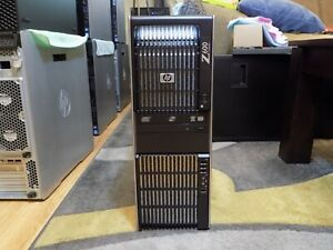 8 CORE HP Z600 WORKSTATION DUAL Xeon 2x X5570 12GB RAM NEW 480GB SSD K2000 2GB