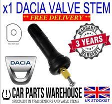 Dacia Stepway II TPMS Valve Stem Replacement.  Rubber Valve Stem