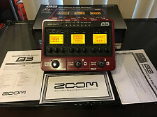 Zoom B3 Multi-Effects Guitar Effect Pedal