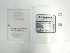 Chronomite CM15L/277 Instant Flow C-Micro Electric Tankless Water Heater 31-3