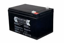 12V 12Ah RPower VDS Batterie Bleiakku USV Akku Notstrom Notlicht Bleibatterie