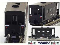 KATO by TOMIX 2711 VAGONE di GUARDIA con LUCI LED ROSSI CODA YO6000 BOX SCALA-N