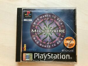 Who Wants to be a Millionaire PS1 Game UK PAL USED