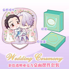 Desktop Decoration Stand Acrylic Cartoon Wedding Anime Japan YURI!!! On Ice Gift
