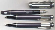 MONTBLANC LIMITED EDITION CHARLES DICKENS FOUNTAIN, PEN,  PENCIL SET NEW IN BOX