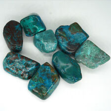 100g Bulk Lot Medium Tumbled Chrysocolla Healing Crystal Reiki Natural Gemstones