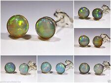 Unbehandelte Echter Edelsteine-Ohrschmuck mit Opal für Damen
