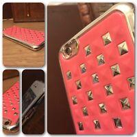 iPhone  6 Case Chrome Diamond Design High Impact Tough Shell Pink   ISPORT™