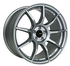 18x8 Enkei TS9 5x112 +45 Platinum Grey Rims Fits VW jetta (MKV,MKVI)