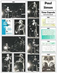 "It's About Rock And Roll: ""Paul Simon"" Broadside by Tim Van Schmidt"