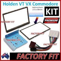 /For Holden Commodore VT VX Fascia Kit Double Din Stereo DVD GPS Car 2DIN Black