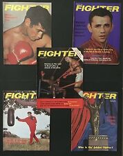 LOT OF 5 AUSTRALIAN FIGHTER BOXING MAGAZINES 1972 JAN, FEB, JULY, AUG & OCT