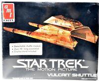 AMT ERTL Star Trek TMP The Motion Picture Vulcan Shuttle Plastic Model Kit d919