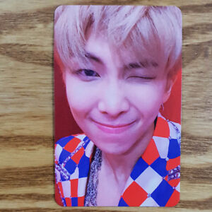 RM Official Photocard BTS Love Yourself Answer S Version Genuine Kpop
