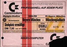 Ticket BL 84/85 FC Bayern München - Borussia Mönchengladbach, Stehplatz ermäßigt
