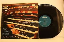 """Far Away Music Don Baker At the Console - Capitol Records LP 12"""" (VG)"""