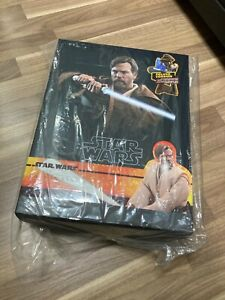 "1/6 scale 12"" Star Wars Hot Toys Star Wars EP3 Obi-Wan Kenobi Deluxe (NEW)"