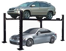 APlusLift HW-8S 8000 LB 4-Post Heavy Duty Portable Storage Car Lift Auto Hoist