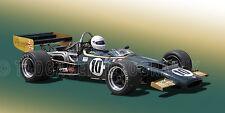 1969 McLaren M10B F5000 INDY 500 Vintage Classic Race Car Photo (CA-0477)