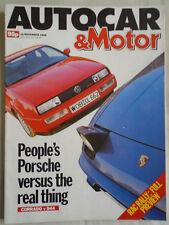 Autocar 16/11/88 Mazda 323 4x4 Turbo
