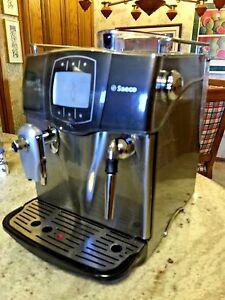 Saeco Incanto Sirius Espresso Machine - Black/Silver