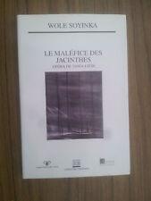 Wole Soyinka Le maléfice des jacinthes ( opéra de Tania Leon ).TBE
