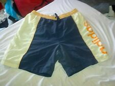 "A2 Adidas Polyester sports Casual Summer Swim Shorts D4 Men's XS 30"" Navy"