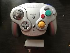 OEM Gamecube Wireless Wavebird Controller DOL-004 Platinum Complete with Dongle
