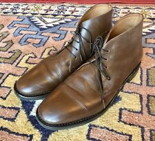 Mens Samuel Windsor Size 11 Brown Chukka Ankle Boots (Mod, Scooter, Peaky)