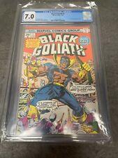 BLACK GOLIATH #1 Origin Story Retold Marvel Comics CGC 7.0!