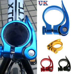 Mountain Bike MTB Cycling Seat Post Clamp Bolt Quick Release 34.9mm~