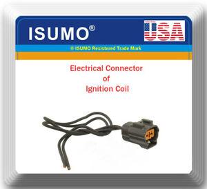 Connector of Ignition Coil Fits: OEM# LHE1510AA Jaguar Vanden Plas XJ6 XJR XJS